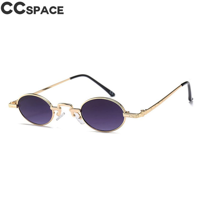 Brand From Celebrity Shades Hip Glasses 40Off steampunk Women Hop Uv400 46413 Oval Us6 48 Sunglasses Vintage Retro In Small Men Y7bgyf6