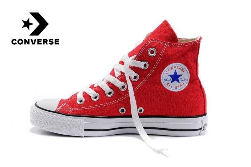 Original authentique Converse skateboard chaussures classique unisexe toile haute pour aider Sneaksers confortable Falt chaussures 102307
