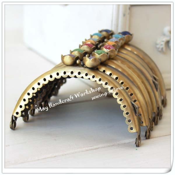 coin purse frames s3bz  frame ebay; aliexpress com 8 5cm arc bronze candy bead metal purse