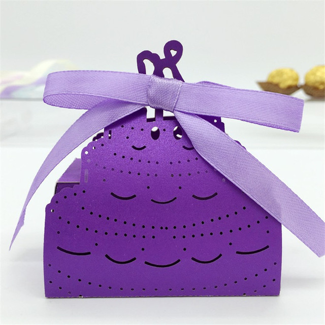 Cake Box Decorating Ideas Inspiration Laser Cut Cake Design Wedding Candy Box Wedding Favors Gifts Boxes 2018