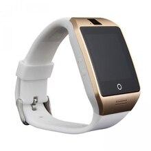 Apro dispositivo portátil bluetooth nfc smart watch smartwatch para android Teléfono IOS Apoyo TF Tarjeta SIM SMS tracker GPS MP3 Relogio