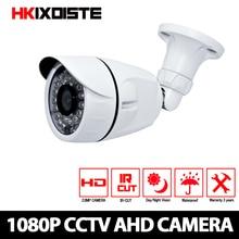 """בית טלוויזיה במעגל סגור מצלמה CCD חיישן 3000TVL מסנן לחתוך IR מצלמה 1080 P AHD פנימי/חיצוני עמיד למים 1080 P 3.6 מ""""מ עדשת מצלמה אבטחה"""