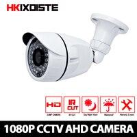 Home CCTV Camera CCD Sensor 3000TVL IR Cut Filter AHD Camera 1080P Indoor / Outdoor Waterproof 1080P 3.6mm Lens Security Camera