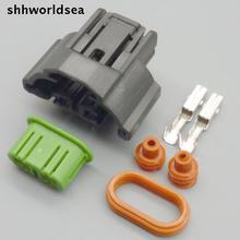 shhworldsea 5/30/100sets 2Pin Auto connector,Auto lamp holder for H11,M6 fog lamps plug for Toyota,Mazda,Honda etc