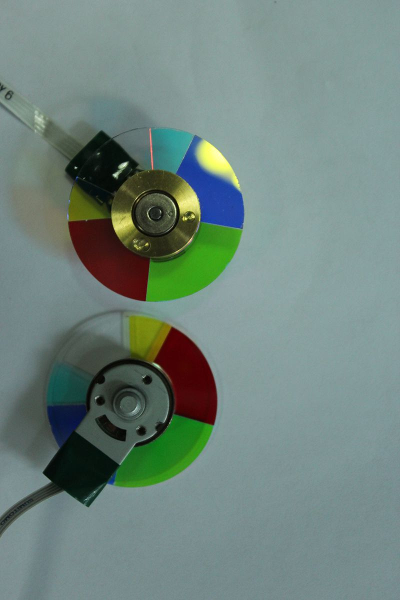 New For Nec NP216+DLP Projector Color Wheel 6 Segment Diameter 40mm brand new dlp projector color wheel for samsung sp d300s