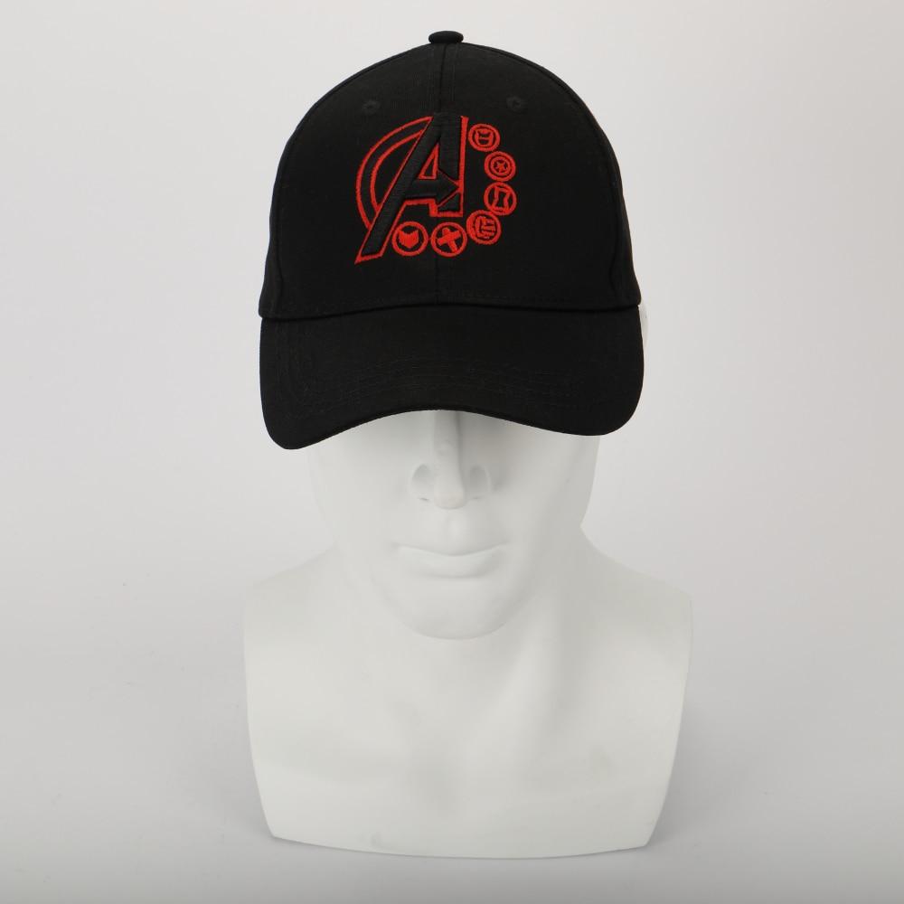 2019 The Avengers Endgame Quantum Realm Hats Cosplay Joe Russo Advanced Tech Hats Embroidery Unisex Advanced Tech Baseball Cap (12)