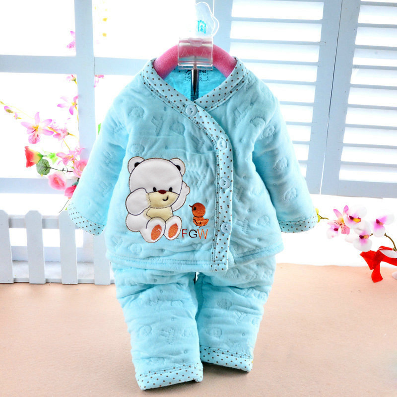 2016 Spring New Baby Kids Children Clothing Set Boys Girls Clothes Cartoon Sport Suit warm with soft track to track baby clothes spring children girls clothing set brand cartoon boys sports suit 1 5 years kids tracksuit sweatshirts pants baby boys clothes