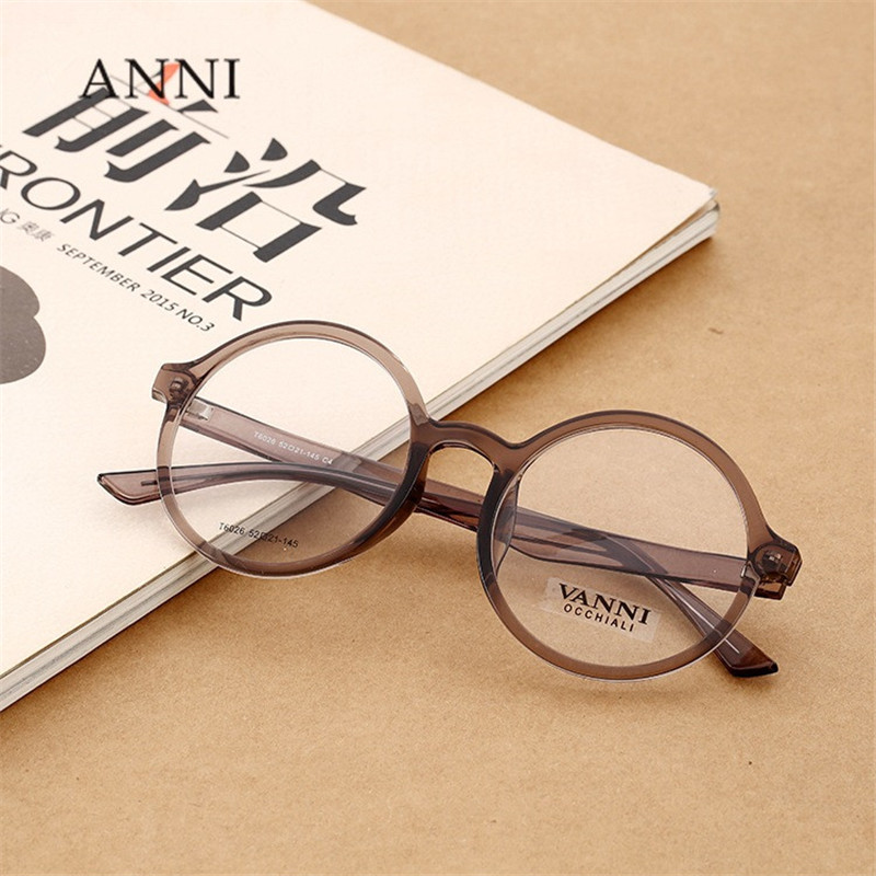 Vazrobe Small Round Glasses Men Women Transparent Customize Prescription optical lens 1.56 1.61 1.67 index ant blue light ray