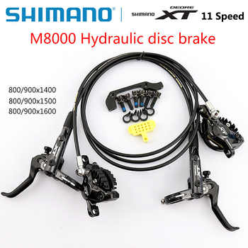 Shimano Deore XT M8000 M8100 Disc Brake Mountain Bike Hydraulic Disc Brake MTB ICE-TECH Left &Right 800/850/900/1400/1500/1600mm - DISCOUNT ITEM  18% OFF All Category