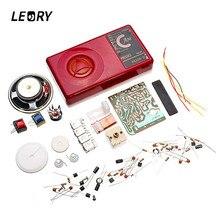Leory 뜨거운 판매 am 라디오 전자 diy 키트 7 튜브 전자 학습 키트 세트