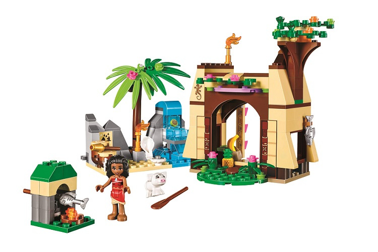 BELA Friends Moanas Island Adventure Building Blocks Classic For Girl Kids Model Toys Ma ...