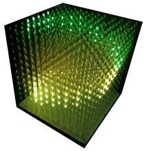 3D12 RGB121212 full color cubic led cubic kit FAI DA TE semi prodotti finiti senza guscio 12*12*12 Glasses free 3D