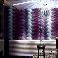 beibehang KTV new wallpaper 3d stereo personality fashion flash wall covering bar hotel fancy ballroom box theme room wallpaper