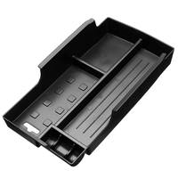 ABS Auto Cover Front Seat Central Armrest Storage Box Container Sticker Tirm For Toyota Camry 2012