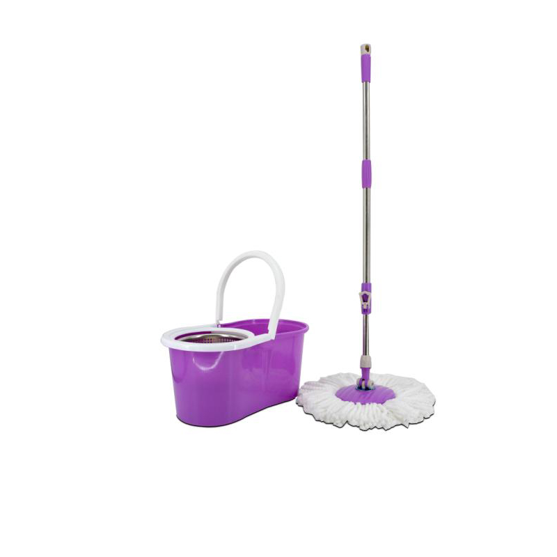 Purple Rotating Mop Environmental Swob