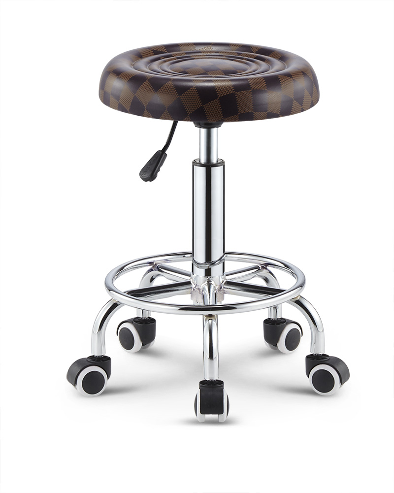 Modern Barber Chair Liftable bar chair hair salon barber chair hairdressing chair put down the barber chair