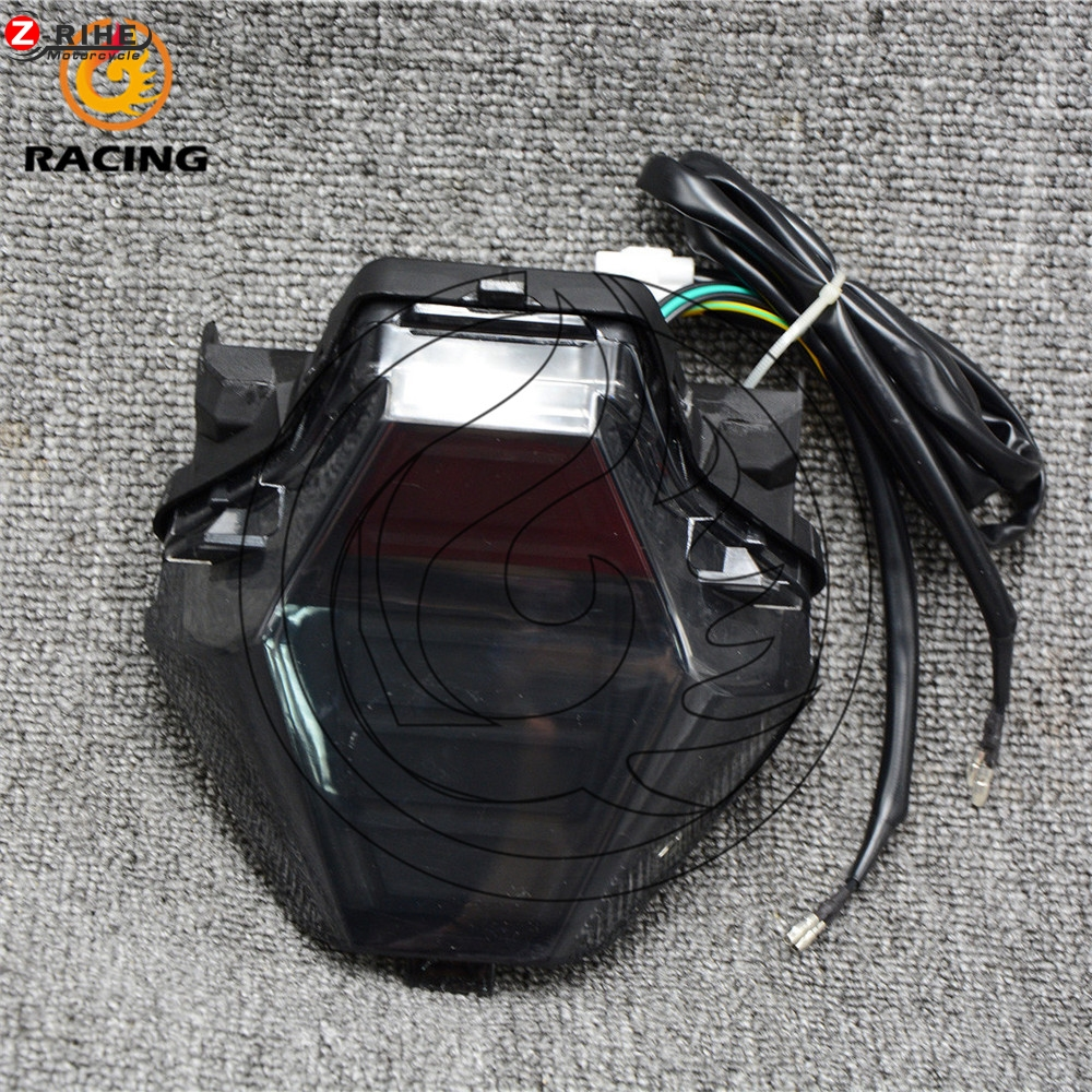 Motorcycle Rear LED Taillight Tail Brake Turn Signals Integrated Led Light For 2013 2014 2015 2016 Yamaha YZF R3 R25 car rear trunk security shield shade cargo cover for nissan qashqai 2008 2009 2010 2011 2012 2013 black beige