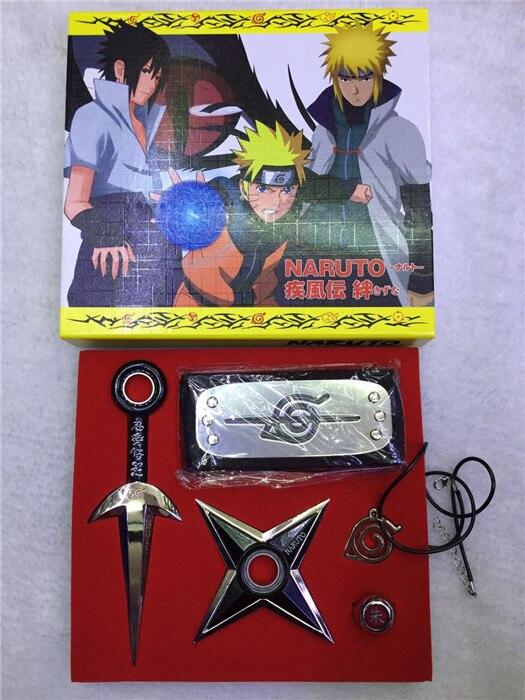 Naruto Kunai Shuriken cosplay Weapon toy 2016 New Naruto Hokage