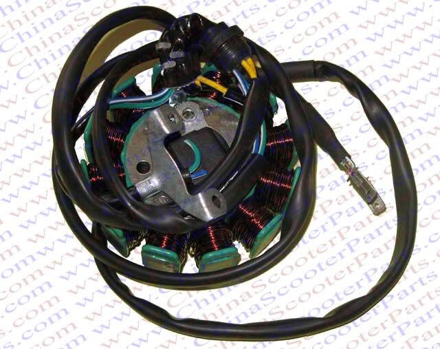 6 pin cdi wiring diagram atv 250cc complete electrics atv quad cc cc
