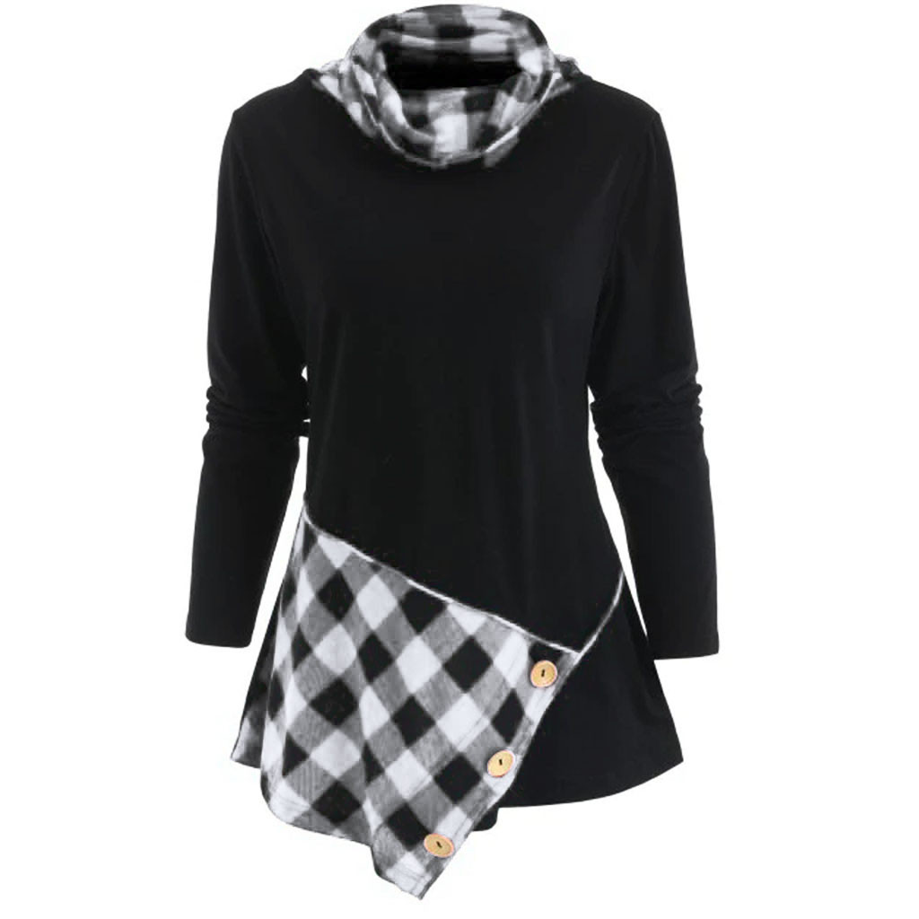 a02fed3c397 Buy cowl neck tunic and get free shipping on AliExpress.com