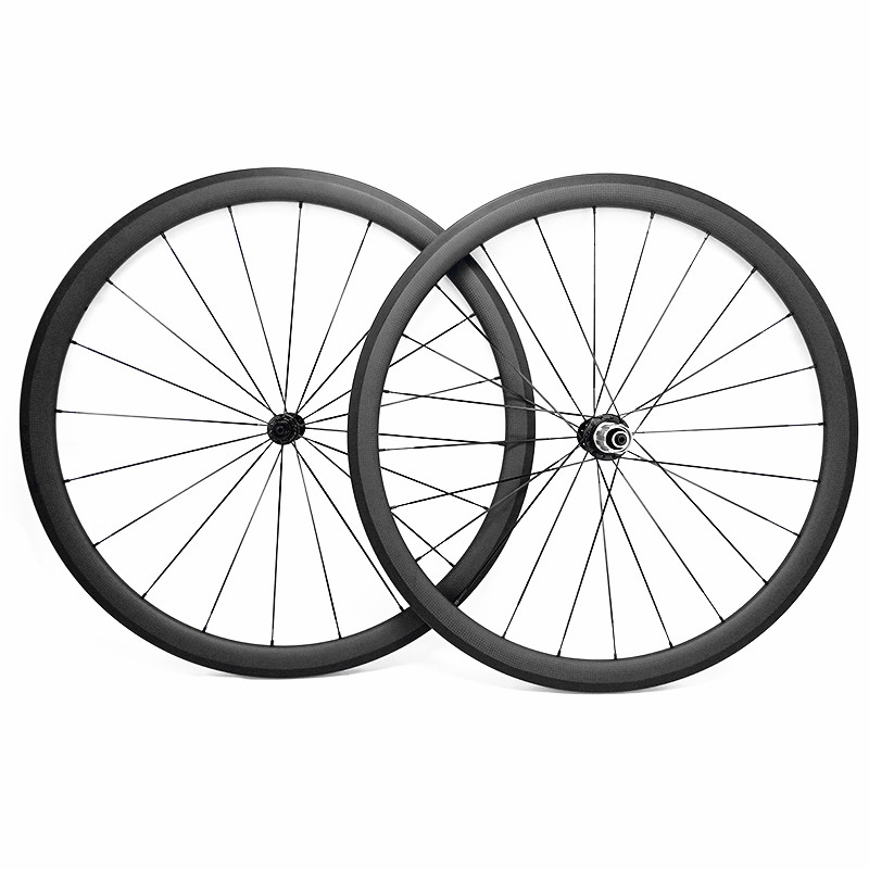 free shipping carbon road wheels 700c bicycle wheels bike road wheelset 38x23mm clincher powerway R13 hubs