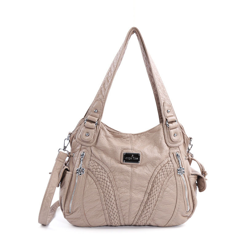 Women's Handbags Single-Shoulder Diagonal Pure-Color Straddle-Bag ZF9645 America Europe
