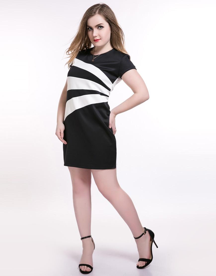 Plus Size 6XL Women Bodycon Dresses Summer 5XL Sheath Dress Big Size Female  Clothes 4XL Large vestidos Short Sleeve Clothes-in Dresses from Women s  Clothing ... dcebb9f6d0e3