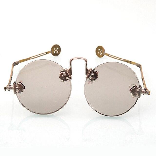 62c1028e2 New Look Men Women Round Sunglasses Vintage Retro Feidu Sunglasses Special Style  Oculos De Sol Masculino