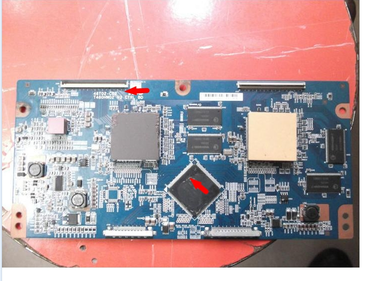 T460HW02 V3 46T02-C02 LCD Logic board connect with T-CON connect board qkitpf778wjn3 lcd board logic board for 4910tp t con connect board