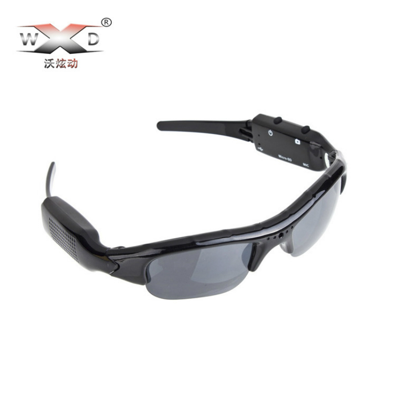 New Arrival WD 480P / 720P SM06 Camera Sunglasses Mobile Eyewear Recorder Video Record Glass Mini Camcorder Glasses Freeshipping