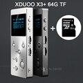 XDUOO X3 (+64GB Card) Professional Lossless music MP3 HIFI Music Player with HD OLED Screen Support APE/FLAC/ALAC/WAV/WMA/OGG/MP