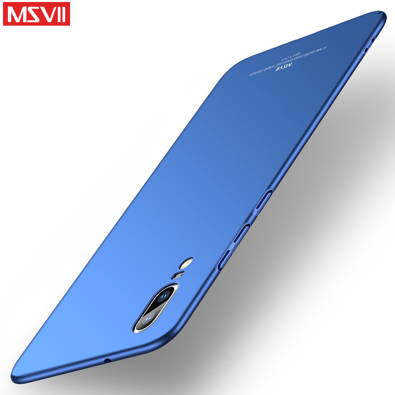 Original MSVII Case For Huawei P20 Pro Case P20 Luxury Thin Hard PC Back Cover For Fundas Huawei P20 Pro Phone Cases Huawei P20(China)