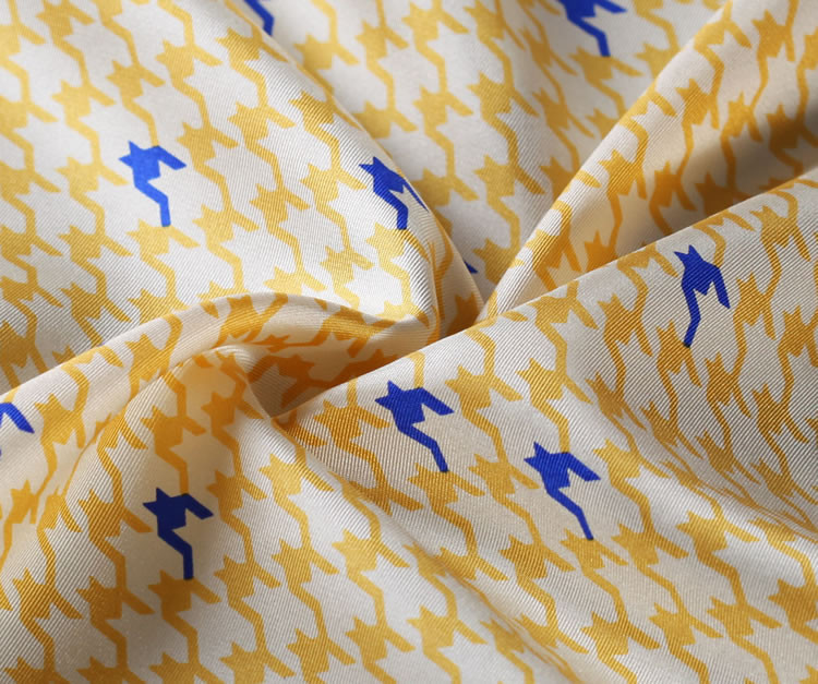 RB01 HN24Y Yellow Blue Houndstooth 34cm (2)