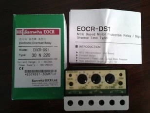 Original EOCR-DS3 220V III and motor protectoOriginal EOCR-DS3 220V III and motor protecto
