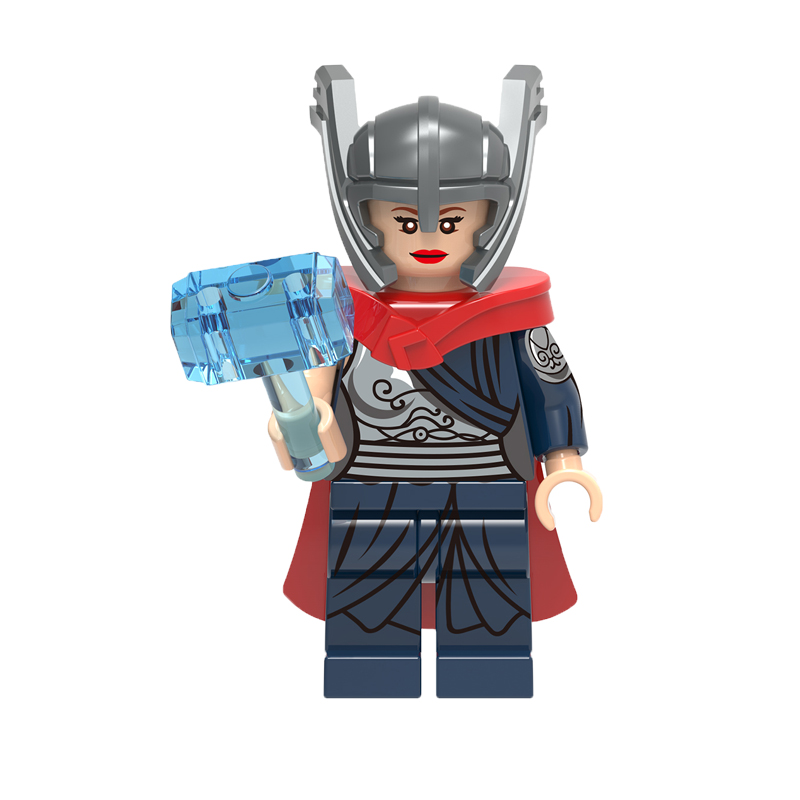 Single Sale Thor Berseker Bricks Red Skull Valkyrja Dark Phoenix Super Heroes Thor 3 Building Blocks Education Toys For Children