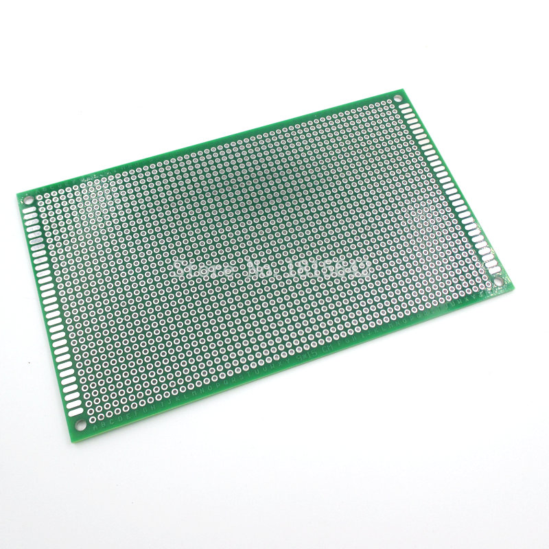 9x15cm Universal Double Side Glass Fiber Green PCB Hole Pitch Standard2.54mm Solderless Breadboard 9*15cm Bread Board Prototype