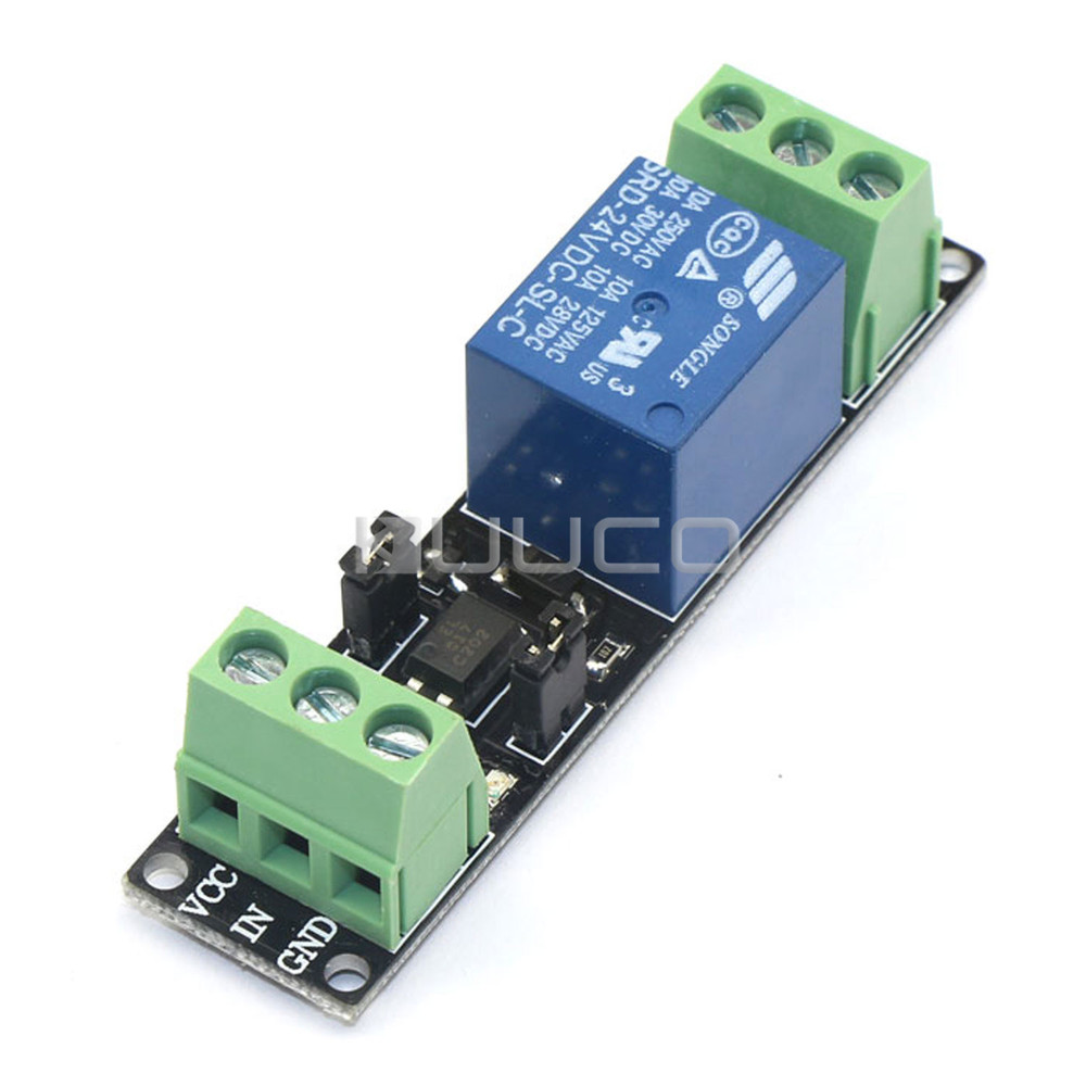 5 PCS/LOT High efficiency Load Controller DC 24V relay module/relay switch/Low/high Voltage Control # 090059 dc relay module control board 12v switch load voltage detection test monitor