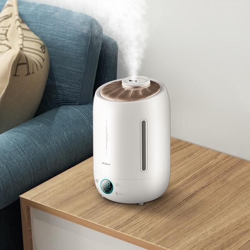 Deerma Air Humidificateur 5L Grande Capacité Calme Arôme À Ultrasons Brouillard Créateur