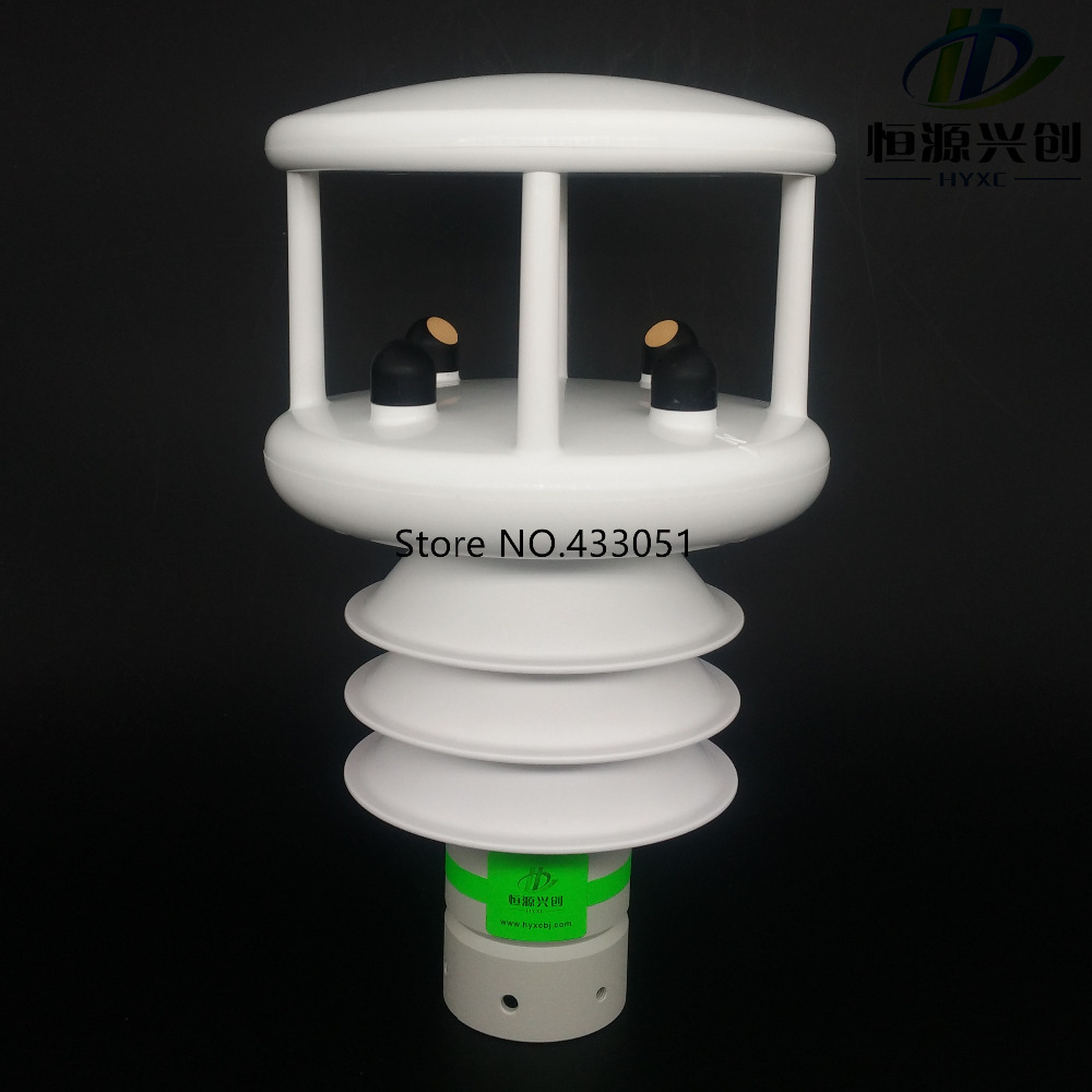 Ultrasonic wind speed wind direction meter Temperature Humidity Air pressure Solar illuminance Radiation Rainfall sensors