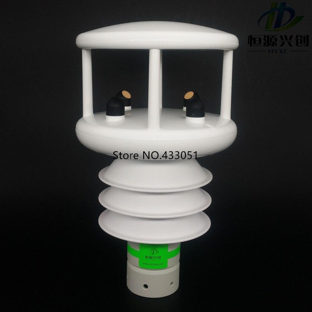 Ultrasons vent vitesse direction du vent compteur/Température/Humidité/Air pression/Solaire éclairement/Radiation/Précipitations capteurs