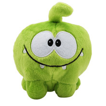 20cm Kawaii om nom Frog Plush Toy Cut the Rope Soft Rubber Figure Classic Game Toys Lovely Gift Doll for kids(China)