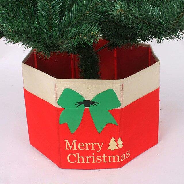 christmas tree skirt xmas tree ornaments merry christmas decoration plastic gifts storage box accessories adornos navidad - Christmas Tree Plastic Storage Box