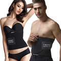Caliente ajustable cintura trimmer cinturón ab entrenador cintura cinturón de pérdida de peso que adelgaza body shaper cincher estómago tummy wrap fat burner