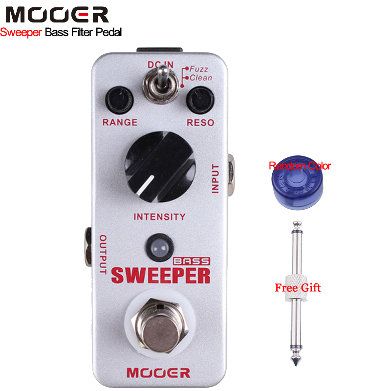 Mooer Sweeper Bass Filter Guitar Effect Pedal Dynamic Envelope Filter Pedal for Both Bass and Guitar