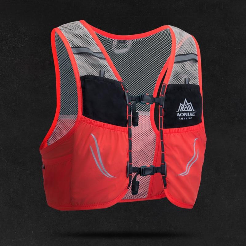 AONIJIE 2.5L Chaleco de correr ligera mochila respirable maratón portátil ultraligero Nylon senderismo bolsa de deporte C932 - 2
