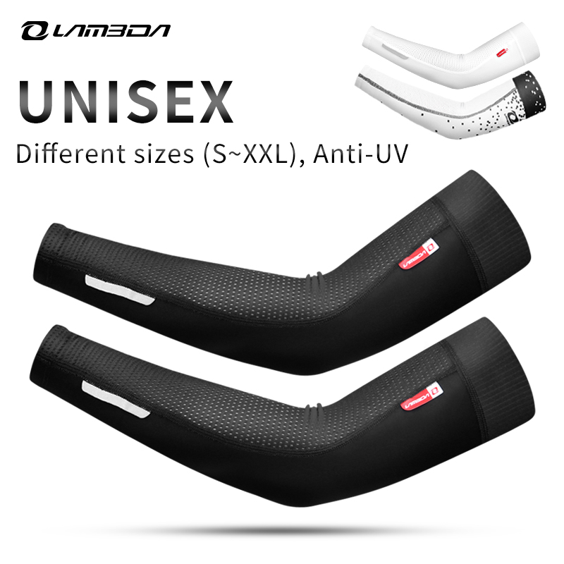 Cuff-Cover Arm-Warmers-Sleeves Protective Bike Bicycle Running Sport Men 1-Pair Women
