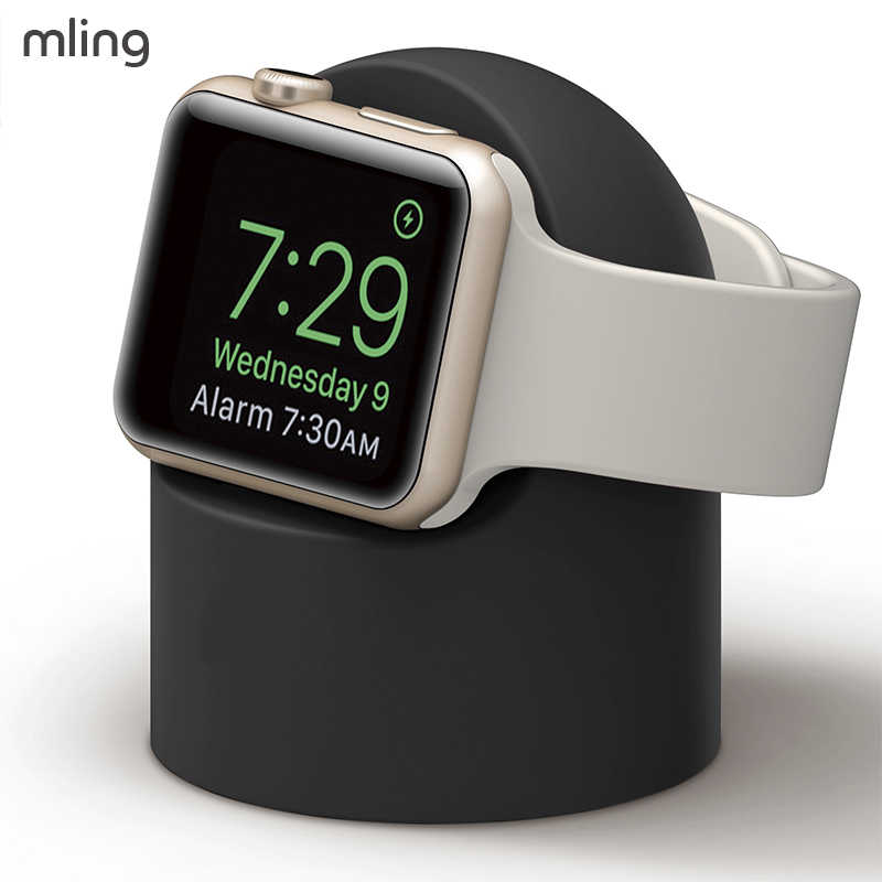 Mling Stand עבור apple watch סדרת 4sereis 2 סדרת 3 סדרת 1 38MM 42MM 40MM 44MM כבל ניהול עבור Iwatch 4 3 2 1