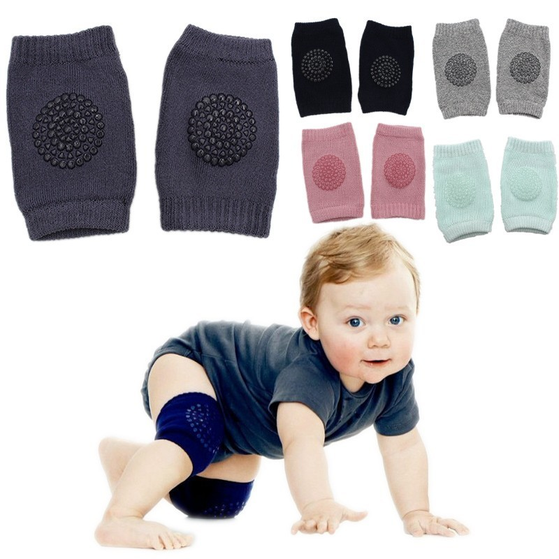 Sale Baby Leg Warmers Kneepads Kids Knee Pads Safety Unisex Crawling Elbow Cushion Infant Knee Support Protector Kneecap Sock ...