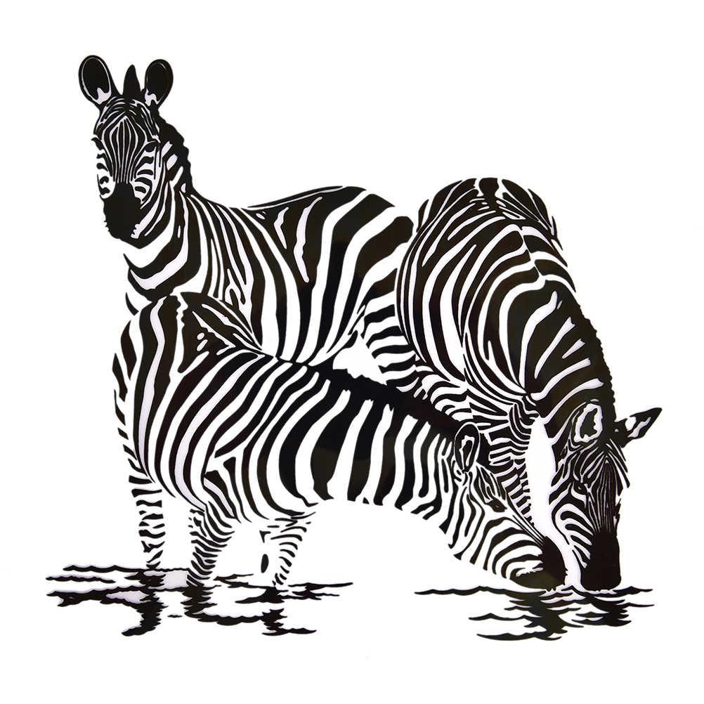 Футболки платья Черно-белые зебры аппликации A-level моющиеся наносимые с помощью утюга наклейки гладить на патчи тепловой печати бытовые утюги