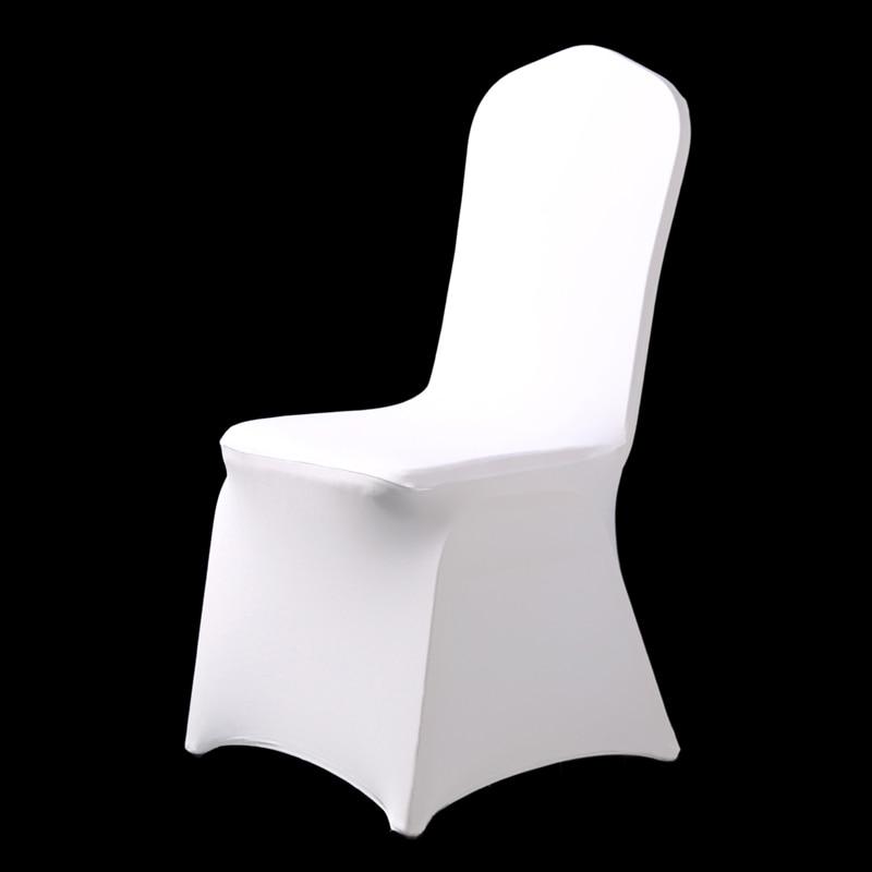 100pcs Stretch Elastic Universal White Spandex Wedding